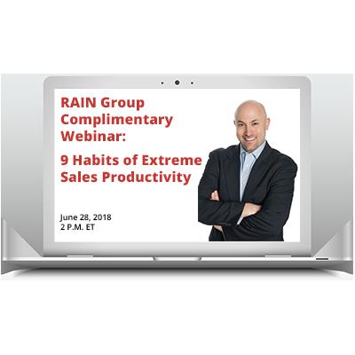 9 Habits of Extreme Sales Productivity