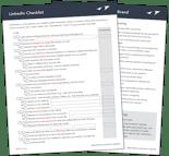 Download: LinkedIn Checklist