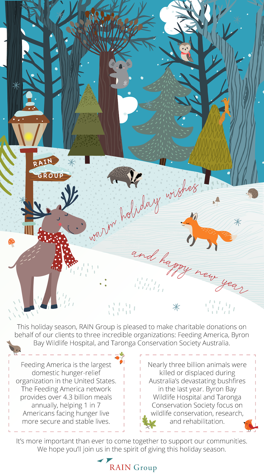 Warm Holiday Wishes & Happy New Year from RAIN Group