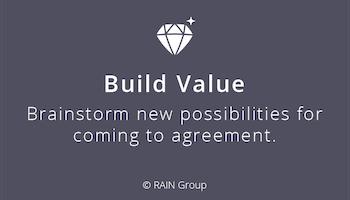 Build Value in Negotiations