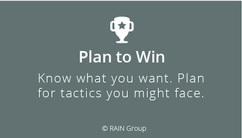 Plan to Win in Negotiations