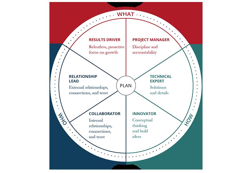 Strategic Account Management Roles Circle