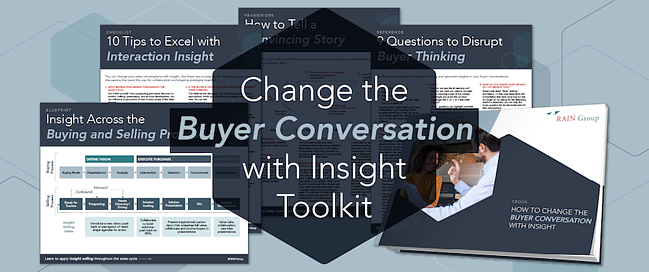 Download: How to Change the Buyer Conversation with Insight Toolkit