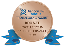 Brandon Hall Award - Excellence in Sales Performance