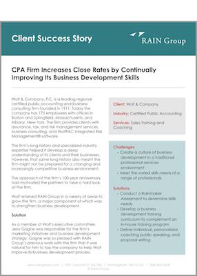 Client Success Story