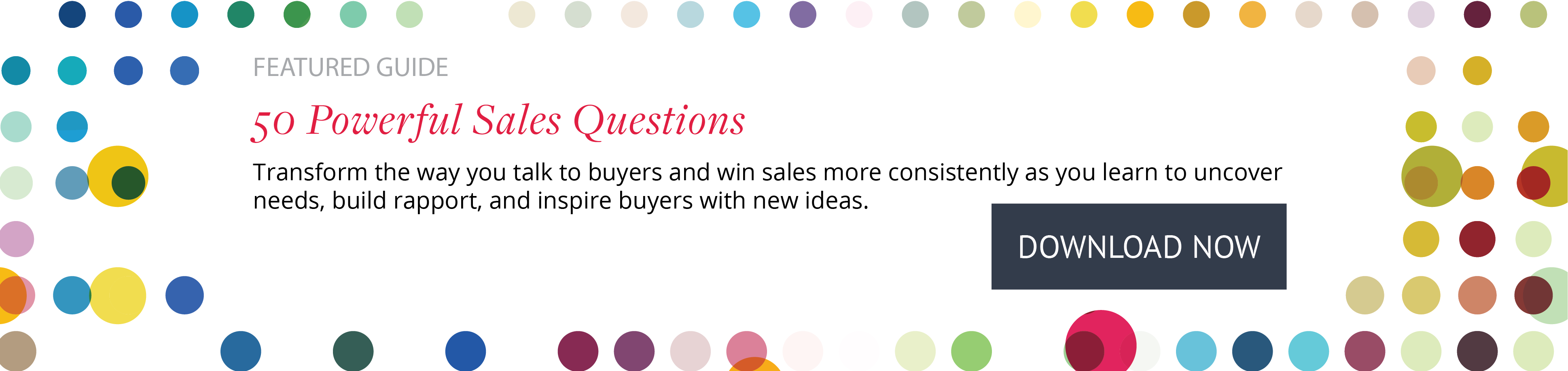 Download Now: 50 Powerful Sales Questions