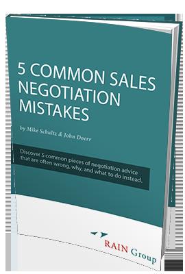 sales negotiation mistakes white paper