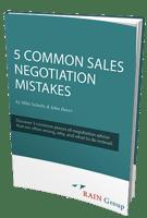 5 Common Sales Negotiation Mistakes