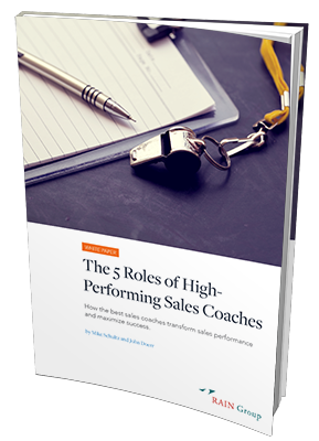 5 Roles of High Performing Sales Coaches