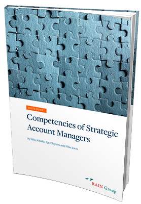 Competencies of Strategic Account Managers