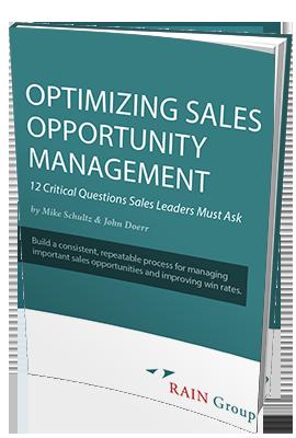 Optimizing Sales Opportunity Management