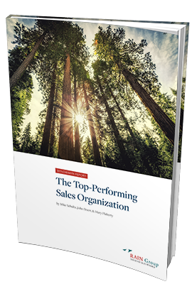 The Top-Performing Sales Organization Benchmark Report