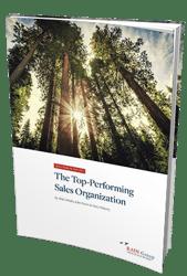 Top Performing Sales Organization Benchmark Report