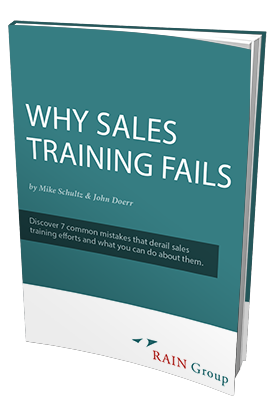 why sales training fails white paper