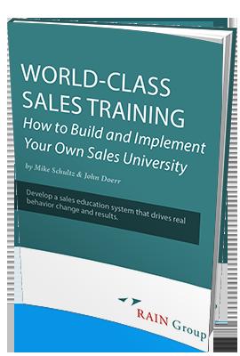 sales training white paper