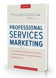 professional services marketing book